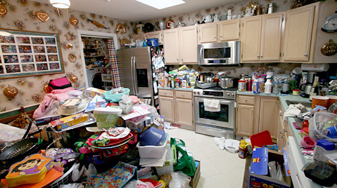 Деколи навіть стає страшно, скільки різного мотлоху та сміття може накопичитись у звичайній квартирі
