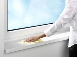 Як доглядати за пластиковими вікнами?