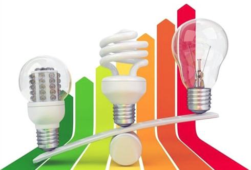 Енергозберігаючі лампочки використовують у декілька раз менше електрики ніж звичайні лампочки жарівки.