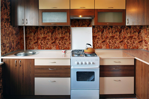 Фасад кухні з ламінованого ДСП