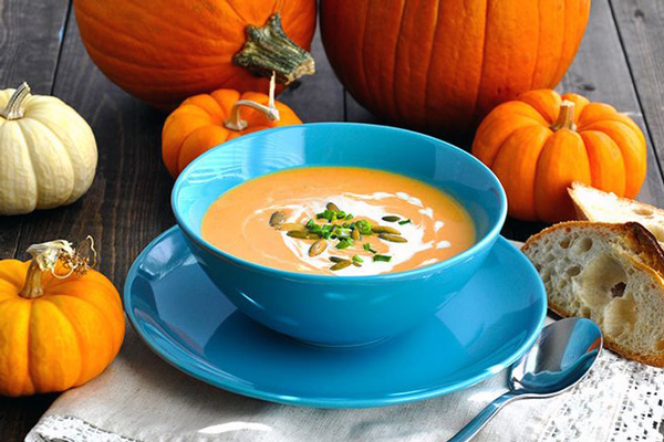 Суп-пюре з гарбуза