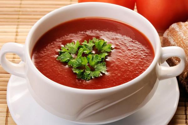 Суп-пюре з помідорів